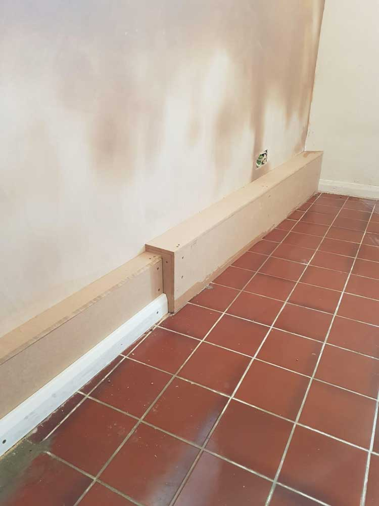 Dry Lining and Soakaway Drainage System